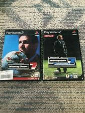 winning eleven 7 ,International PS2 game 2 set sony japan