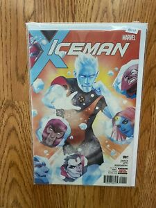 Iceman 001 - High Grade Comic Book - B62-57