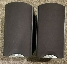 Klipsch Synergy B2 Bookshelf black B2SBBK Stereo Speakers; Set of 2: Works great