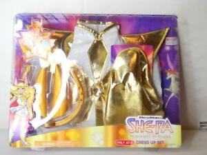 New! DreamWorks SHE-RA Princess of Power Dress Up Set Costume Role Play Fit 4-6x