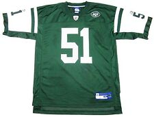 Reebok On Field Vintage New York Jets Jersey Jonathan Vilma #51 Sz XL