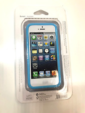 Verizon Bumper Cover Case For iPhone 5C (Blue/Clear)