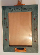 """My Little Blessing Pet Photo Frame by Veronica Frontz 8 1/2"""" Tall 6"""" Wide"""
