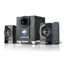 BLUETOOTH WIRELESS MINI SHELF HOME THEATER ENTERTAINMENT SYSTEM USB MP3 PLAYER