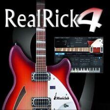 New MusicLab RealRick 4 - 6-string,12-string guitars Virtual AAX AU VST3