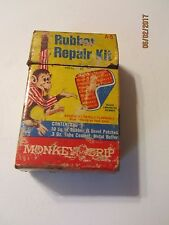 Vintage Rubber Repair Kit Repairs all Rubber Products by Monkey Grip