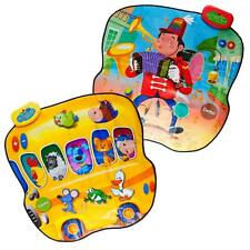 Dimple Animal Bus and Musician Double Sided Play Mat