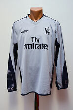 CHELSEA LONDON 2003/2004 GOALKEEPER FOOTBALL SHIRT JERSEY UMBRO ENGLAND