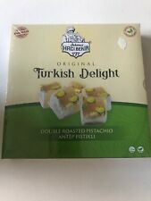 Turkish Delight With Double Roasted Pistachio 350g - Turkish Sweet Lokum - Halal