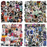 50PCS Classic Horror Movie Vinyl Stickers Decals for Skateboard/Luggage/Laptop