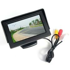 """4.3"""" LCD TFT Car RearView Headrest Color Monitor For Car Reversing Camera GPS 1"""