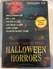 HALLOWEEN HORRORS (DVD) 6 Classic Tales HOUSE ON HAUNTED HILL Last Man on Earth