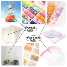 Cellophane Bags for Wax Melts Packaging Gift Party Sweet Cookie Wrap Clear Cello