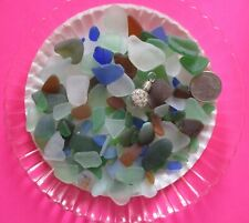 Pure Small & Tiny Beach Sea Glass Surf-tumbled Jewelry Quality Crafts + Gift HP8