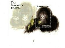 Guyana - 1998 - Mountain Gorilla - Souvenir Sheet - MNH