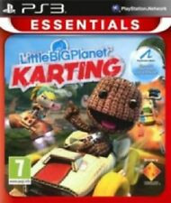 & Little Big Planet Karting Essentials Sony PlayStation 3 Ps3 Game