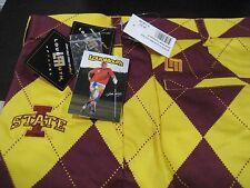 MENS LoudMouth Golf PANTS IOWA STATE CYCLONES 42 WAIST LOUD AND FUNKY RARE NWT