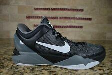 NEW Nike Zoom Kobe VII 7 Black White Grey 488371 001 Size 11.5 RARE Cool Gray