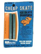 Vintage Cheap Skate Ice Skate Sharpener with Original Package