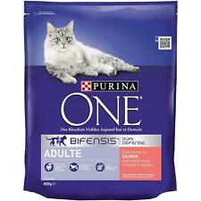 Purina One Adult Salmon & Whole Grains 3kg - Complete Dry Cat Food