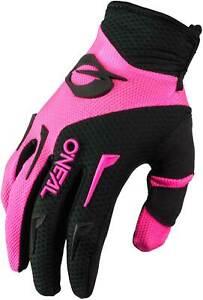 O'Neal Women's Element Gloves - MX Motocross Dirt Bike Off-Road ATV MTB Gear