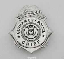 Gotham City Police Chief TV Series Badge - Replica