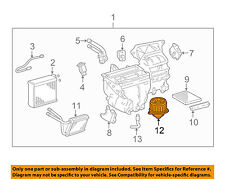 TOYOTA OEM 03-08 Corolla-Blower Motor 8710302370