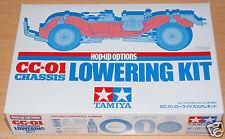 Tamiya 54625 CC-01 Chassis Lowering Kit (CC01/XC/Jeep/Pajero/FJ/Bronco/Unimog)