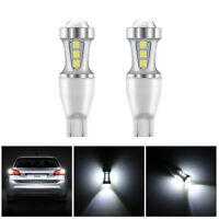 2X Car T15 912 921 W16W 18W 18-LED Light Backup Reverse Lamp Canbus SMD 6000K AU