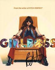 Britt Robertson GirlBoss Actress Signed 8x10 Photo COA
