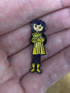 CORALINE - Enamel Pin Badge - Cult Movie Collectable, Novelty, Gift, Films, Cute