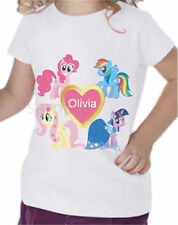Girls' Graphic Short Sleeve Sleeve Polyester T-Shirts, Top & Shirts (2-16 Years)