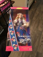 1995 Norwegian Barbie, Dolls of the World Collection, #14450