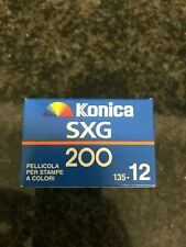 KONICA SXG 200 - 12 EXP 35 film expired film
