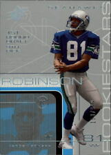 2001 SPx #93 Koren Robinson RC Rookie Serial # /999