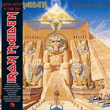 "Iron Maiden-Powerslave  (UK IMPORT)  Vinyl / 12"" Album Picture Disc NEW"
