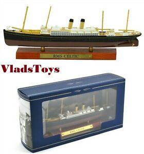 Atlas luxurious Ocean liners 1:1250 Scale RMS Celtic White Star Line 7572-009