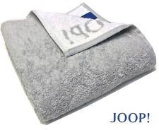 B_ JOOP! 1600 CLASSIC DOUBLEFACE SAUNATUCH STRANDTUCH LIEGETUCH 76 SILBER