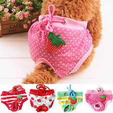 KE_ Female Dog Puppy Pet Diaper Pant Physiological Sanitary Short Panty Underw
