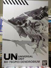 "Premium Bandai Gundam UNIVERSAL UNIT ""RX-78 GP03 DENDROBIUM"" Big Size! Figure"