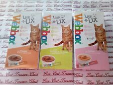 3x Lick-e-Lix Cat Yoghurt Treats