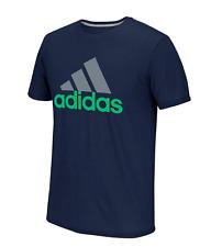 Adidas Men's Logo Tee T-Shirt (XL) Collegiate Navy