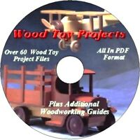 WOOD TOY PROJECTS   PLUS BONUS SHOP PROJECTS ON ONE CD