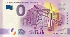 Billet 0 Euro - FR 62 Le Blockhaus d'Eperlecques - 2020-3 - anniversary