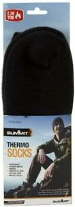 JOB LOT X24 pairs of Summit Thermo Thermal Socks, black, 2.3 tog, one size.