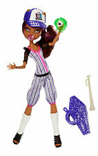 MONSTER HIGH CLAWDEEN WOLF Ghoul Sports BAMBOLA DA COLLEZIONE RARO bjr12