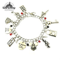 Disney's Mickey Mouse (11 Themed Charms) Assorted Metal Charm Bracelet