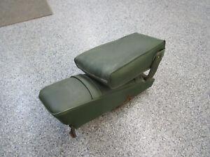 1969-1971 CHRYSLER DODGE PLYMOUTH C-BODY BUDDY SEAT ARMREST WITH BRACKET GREEN