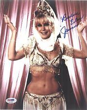 BARBARA EDEN AUTOGRAPHED  8x10 PHOTO I DREAM OF JEANNIE PSA DNA