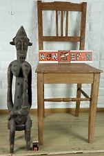 Afrika Figur 71cm hoch Mutter Kind Baby Holz Elfenbeinküste Senufo Africa mother